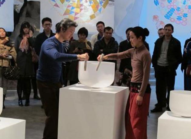 George Ho 2014 solo show in Beijing